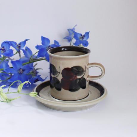 ARABIA/Ruija アラビア/ルイヤ コーヒーカップ&ソーサー 商品№130
