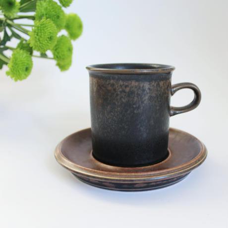 ARABIA/RUSKA(アラビア/ルスカ)コーヒーカップ&ソーサー 商品No.10