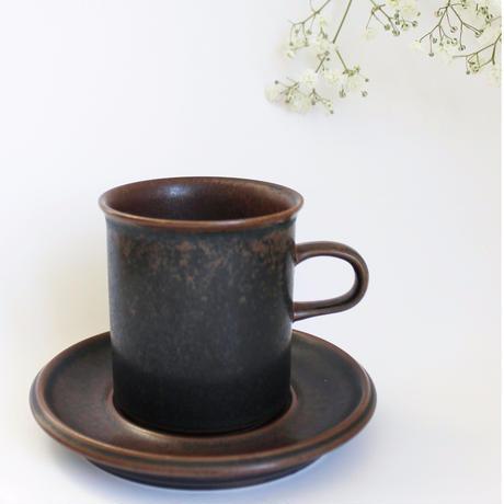 ARABIA/RUSKA(アラビア/ルスカ)コーヒーカップ&ソーサー 商品No.4