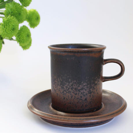 ARABIA/RUSKA(アラビア/ルスカ)コーヒーカップ&ソーサー 商品No.7