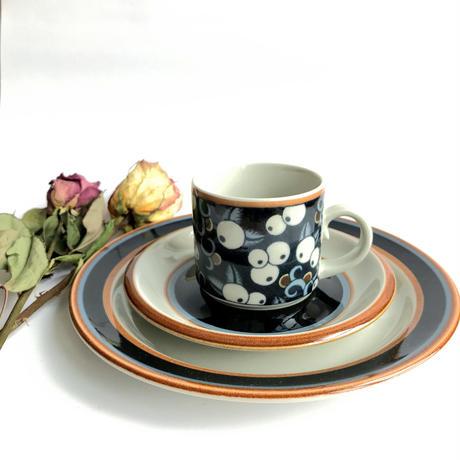 ARABIA Taika/アラビア タイカ コーヒーカップソーサー&ケーキプレート 商品№168