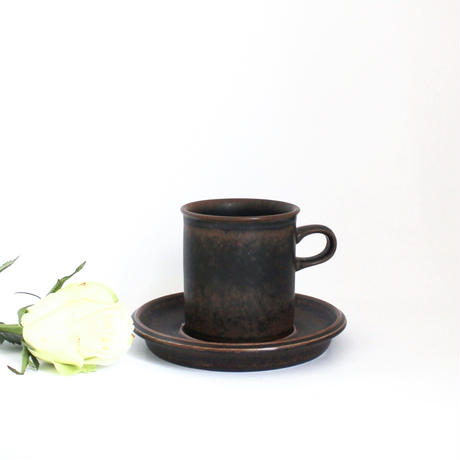 ARABIA/RUSKA(アラビア/ルスカ)コーヒーカップ&ソーサー 商品No.8