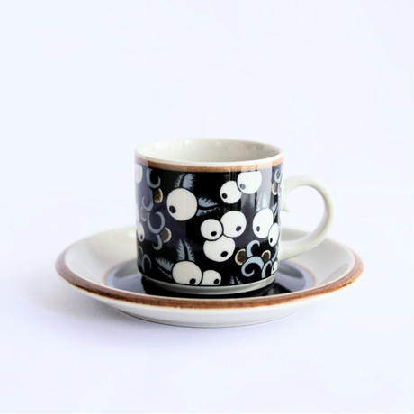 ARABIA Taika/アラビア タイカ コーヒーカップソーサー  No.2