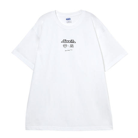 ZUKKY × MONSTER T-shirt (WHITE)