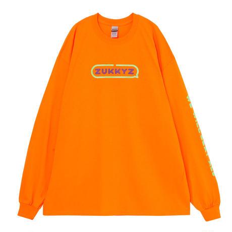 SpeakingロングスリーブTシャツ(ORANGE)