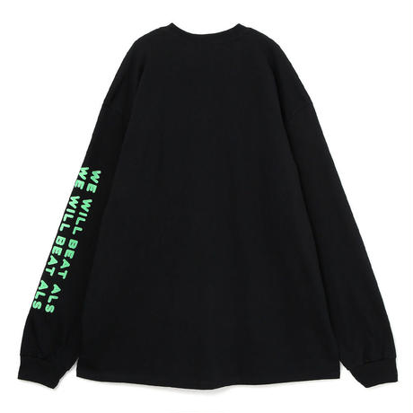 Speaking ロングスリーブTシャツ(BLACK)