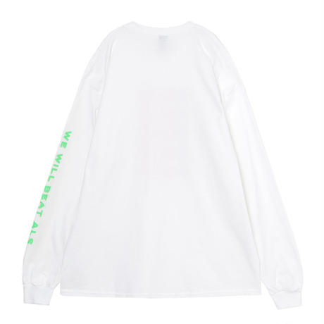 Speaking ロングスリーブTシャツ(WHITE)