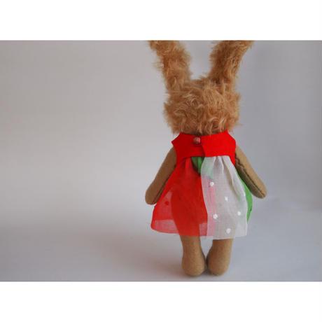 ciel étoilé オリジナル人形用 お洋服 red