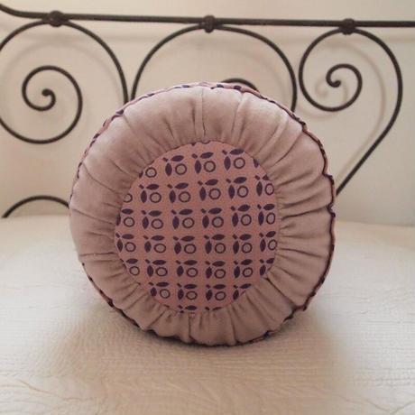 bagaille バガイユ Polochon クッション フラワー柄 pink