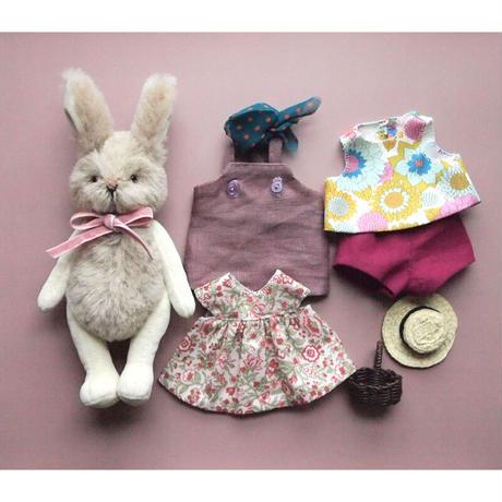 ciel étoilé  オリジナル rabbit 洋服付き  brown