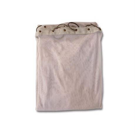 en fil d'Indienne カーテン Tulle curtain pearl2 (pink beige)120x300