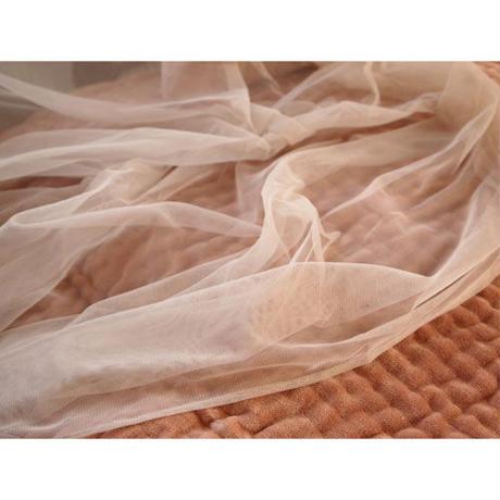 en fil d'Indienne カーテン Tulle curtain pearl  120x300
