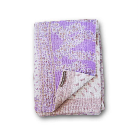 Jeanette farrier baby kantha ジャネットファリア ベビーカンタ purple