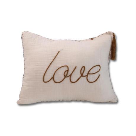 Numero74 ヌメロ74  Message cushion pastel メッセージクッション white
