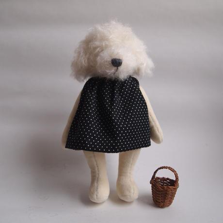 ciel étoilé  オリジナルトイプー white *人形のみ !!アウトレット!! 足に小さなシミあり