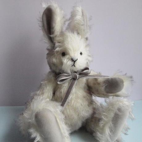 ciel étoilé  オリジナル Standard size teddy rabbit Silver