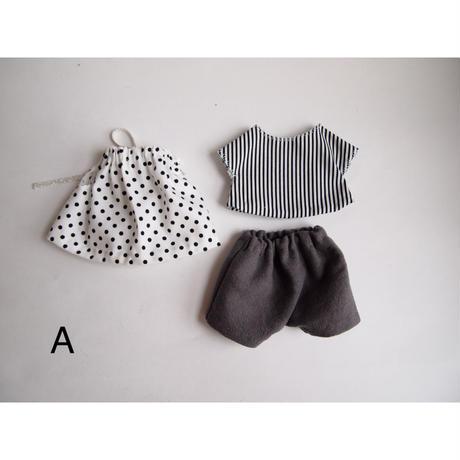 ciel étoilé オリジナル人形用 お洋服 A-D