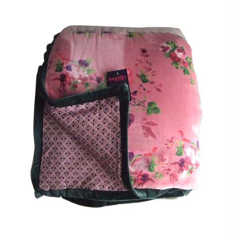 bagaille バガイユ キルトフラワー柄 pink 150x220
