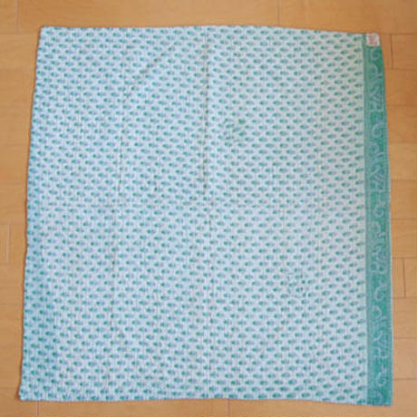 Jeanette farrier baby kantha ジャネットファリア ベビーカンタ green