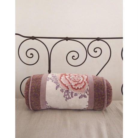 bagaille バガイユ Polochonクッション botan pink gray