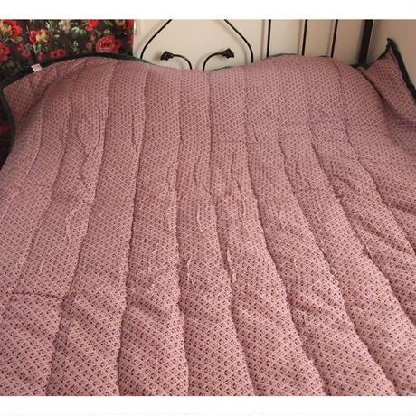 Bagaille バガイユ キルト  フラワー柄 pink 160x160