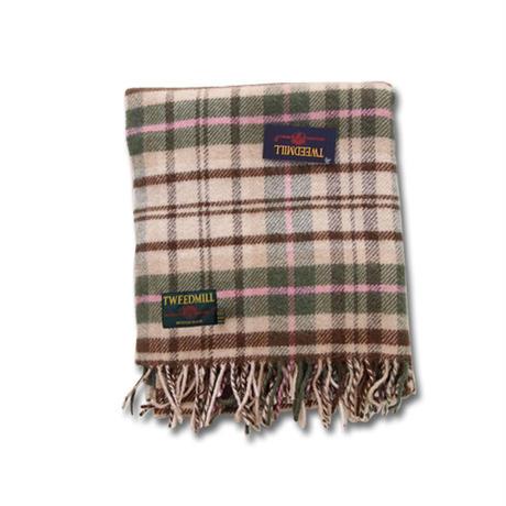 Tweedmill ツイードミル knee rug Cottage 70x183 Brown