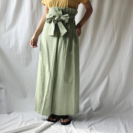 Manic Monday・Linen Long Skirt(9S65000E)