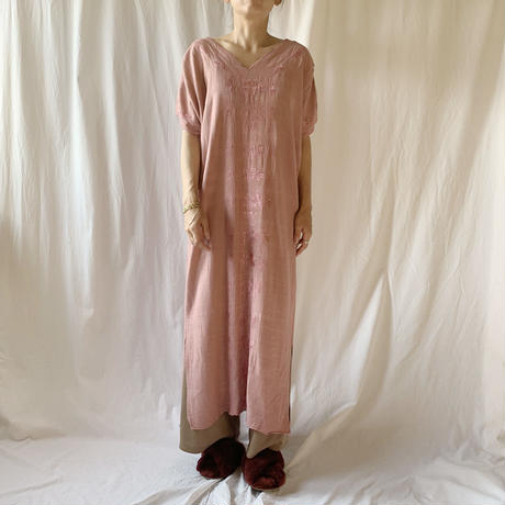 DAZZLE・Embroidery Tac Long Dress(9W33022E)