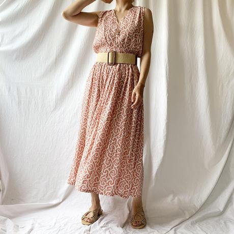 DAZZLE・シャーリングLong Dress(9S33016J)