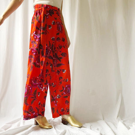DAZZLE・Flower Long Pants(9S34003E)