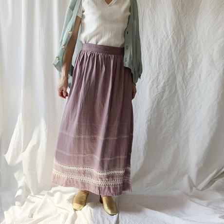 BAD・Embroideryラップスカート(9S15002E)