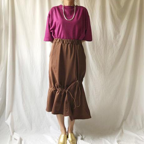 WHOO-AA・コードラッフルアシメスカート(W9S5002)