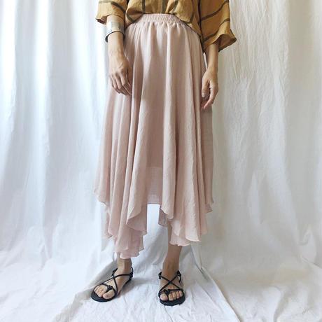 WHOO-AA・楊柳ランダムスカート(W9S5005)