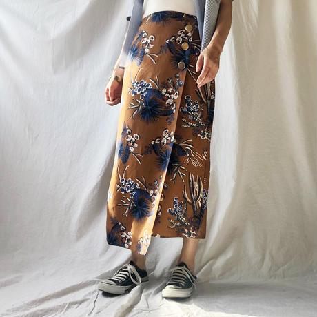 DAZZLE・ラップ風ヘムランダムスカート(9S35003H)