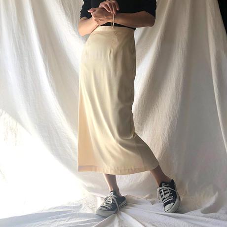 ZURI・ジャガードサテンスカート(9S45001H)