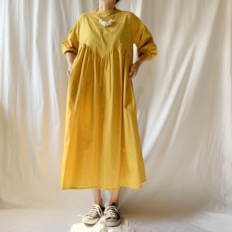 Manic Monday・Gather Dress(9W63014E)