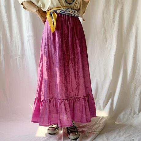Manic Monday・Shiny Ruffle Skirt(9W65002E)