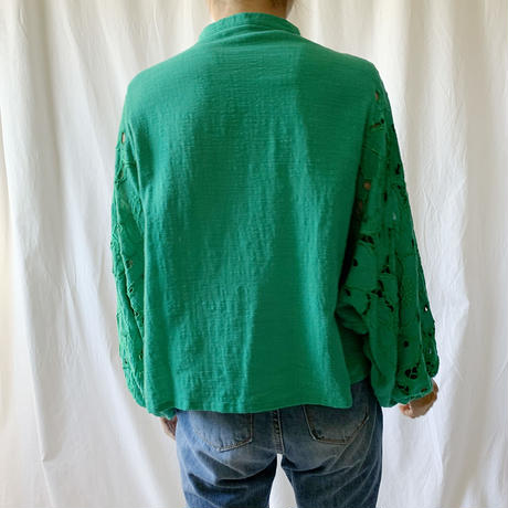 DAZZLE・Cutwork 2way Blouse(9P31000E)