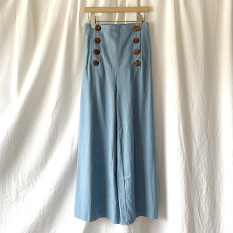 Manic Monday・Stripe Marine Pants(9S64005U)