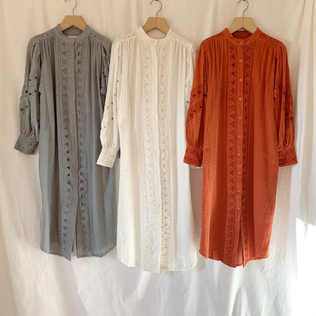 DAZZLE・Cutwork 2Way Long Dress(9P33002E)