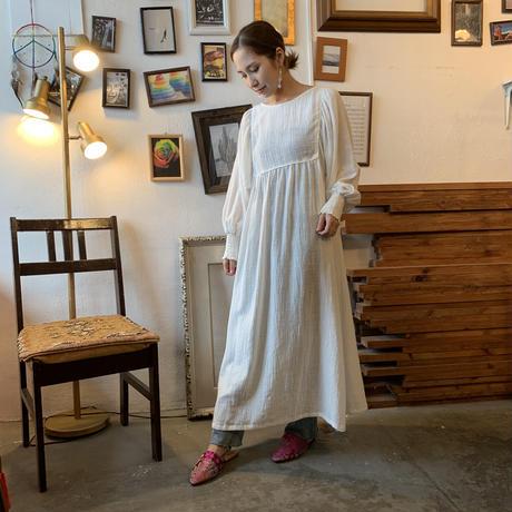 MANIC MONDAY/ SATIN PIPING DRESS(0W63015E)