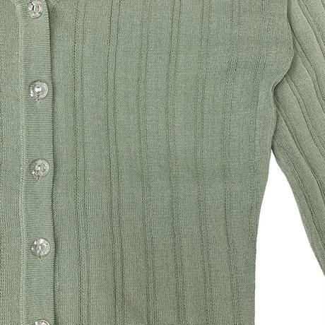 WHOO-AA・Sheer Knit Cardigan(W0S6010)