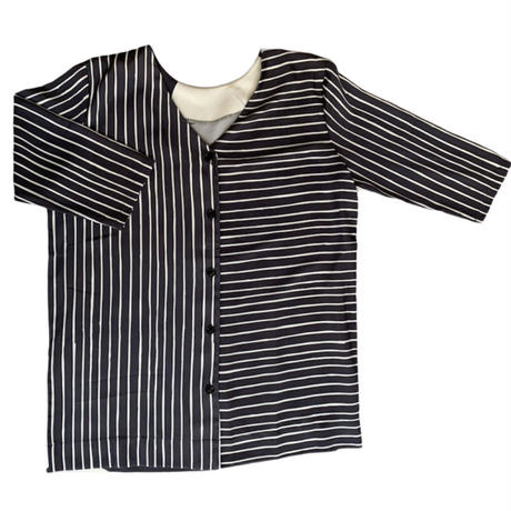 DAZZLE・Drawing 2print 2way Top(0W32014H)