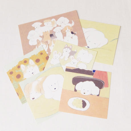 ポストカード6枚set(てらおかなつみ)