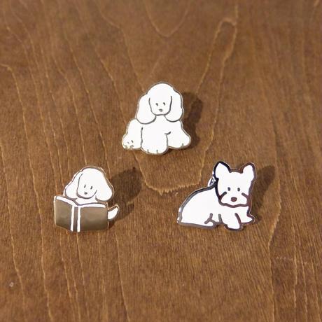 犬ピンズ(てらおかなつみ)