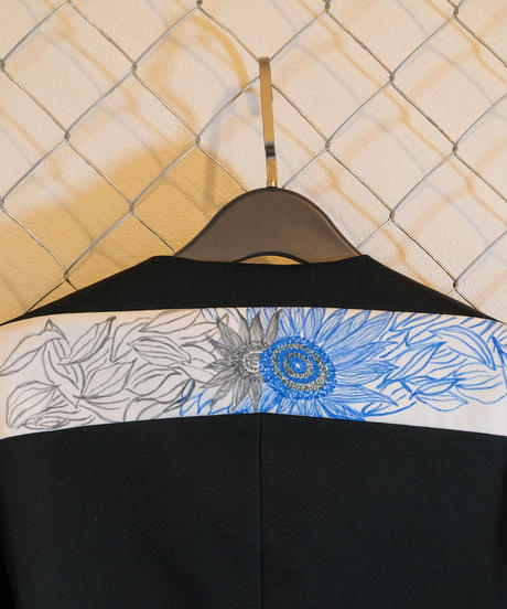 01BORDERLESS WEARジャケット Wearable ART×kanoco XLサイズ