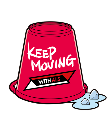 Charity Sticker (KEEP MOVING)