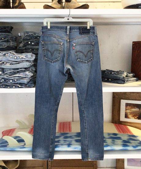 105XX TAPERED      INDIGO         Size  SMALL 32in.   #004