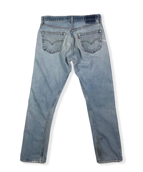 105XX TAPERED      INDIGO         Size  SMALL 32in.   #002
