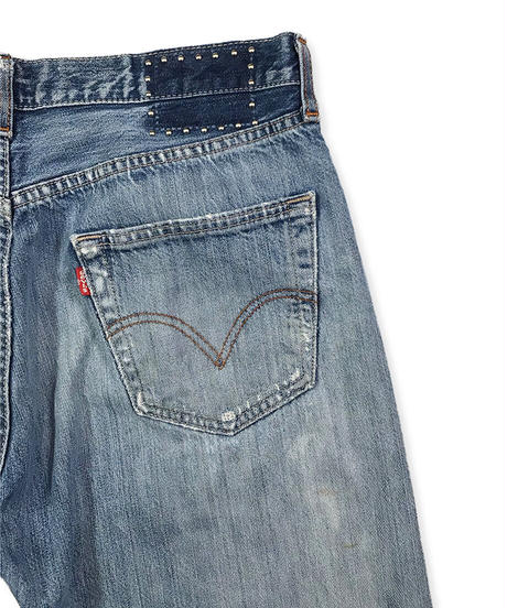 105XX TAPERED      INDIGO         Size  SMALL 32in.   #003